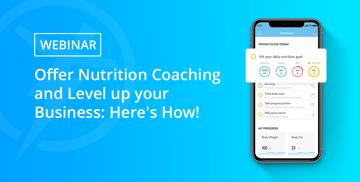WEBINAR - Offer Nutrition Coaching