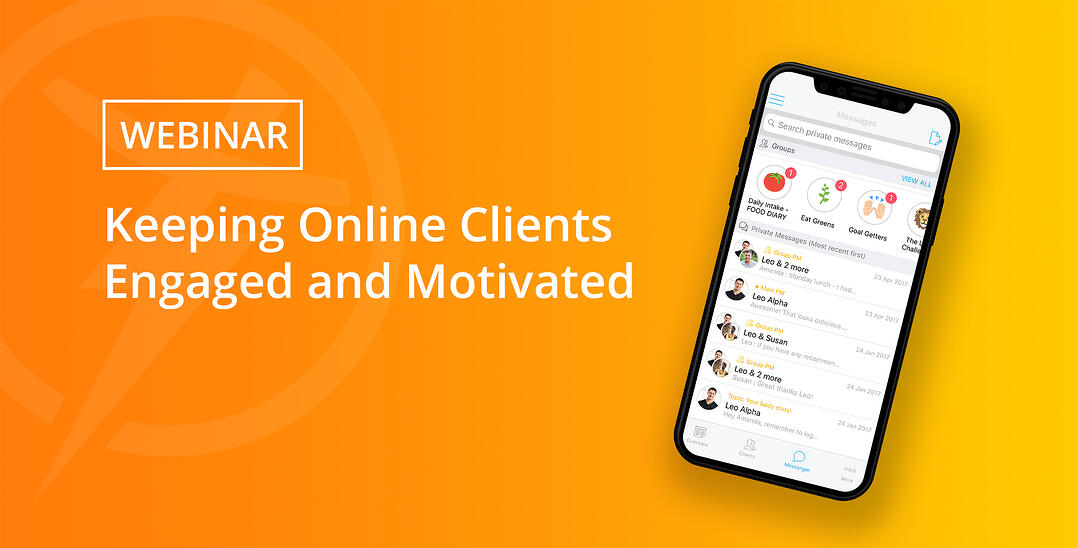 Trainerize Webinar: Keeping Online Clients Engaged and Motivated